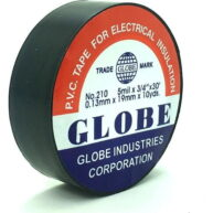 Globe Siyah Renk Elektrik Izole Bandı 3'lü
