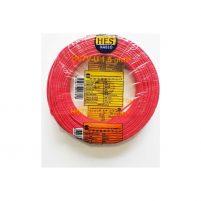 Hes Nya Kablo Tek Damar Kırmızı 100 m 1,5 mm