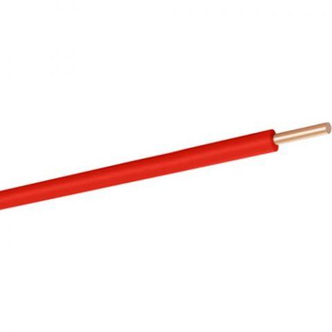 Hes 2,5 mm NYA Kablo 1 m Kırmızı Tam Bakır H07V-U