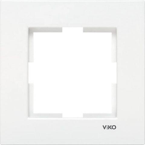 Viko Karre Beyaz Tekli Çerçeve