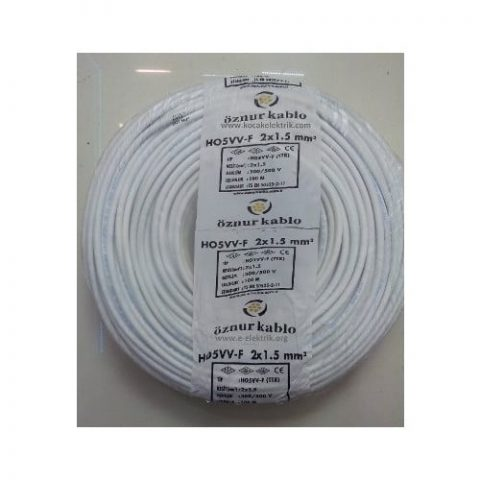 Öznur 2X1,5 Ttr Kablo 100Mt