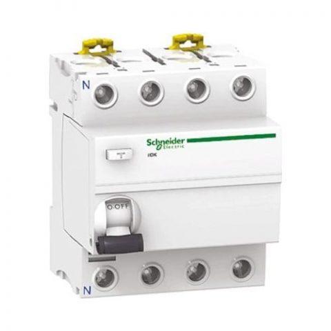 Schneider Electric 4P 25A Kaçak Akım Rölesi 30Ma A9R50425
