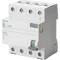 Siemens 5Sv4642-0 - 3X25A 300Ma Kaçak Akım Rölesi - 70Mm