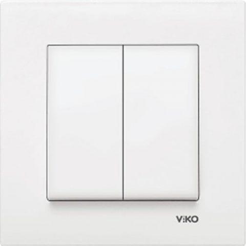 Viko 90967002 - Karre Komütatör Beyaz Çerçeveli