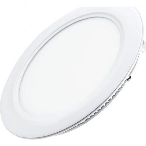Ack 6 W Sıva Altı Yuvarlak Led Panel Armatür 3000K Beyaz