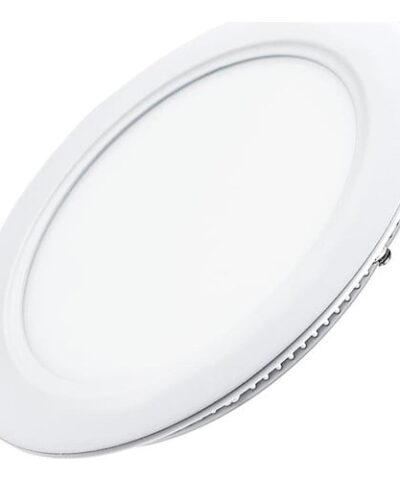 Ack 15 W Sıva Altı Yuvarlak Led Panel Armatür 6500K Beyaz